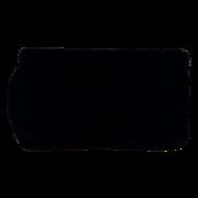 SOLD Koret Black Velvet Clutch Evening Bag Satin Lining