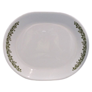 SOLD Spring Blossom Crazy Daisy Corelle Oval Platter