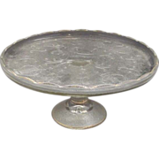 REDUCED Jeannette Harp Cake Stand Gold Trim