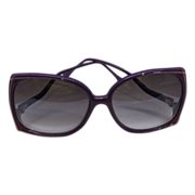 REDUCED Purple Sunglasses Plastic Vintage Taiwan 1980s