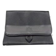 Gilchrest & Soames Black Makeup Jewelry Travel Case
