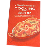 Campbell's Cooking With Soup 1964 Edition Red Cover