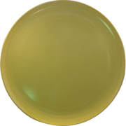 Yellow Melamine Chop Plate Round Platter
