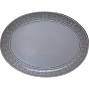 """Imperial China Whitney Oval Platter 16"""""""