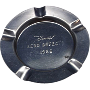Bendix Zero Defect 1966 Metal Ashtray