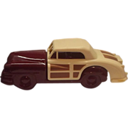 SALE Avon 1948 Chrysler Town and Country Car Bottle Burgundy