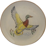 REDUCED Mallard Duck Colorful Plate Simplicity Canonsburg