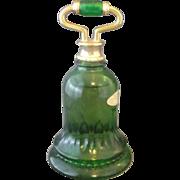 SALE Avon Emerald Green Bell Sweet Honesty Bottle
