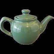 SOLD Sage Green Glazed Small Porcelain Tea Pot