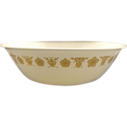 Corelle Butterfly Gold Large Round Serving Bowl 10""