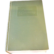 Encyclopedia of Cookery Green Cover Hardback 1949 First Edition