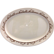 REDUCED Mayer Curtis Oval Platter Restaurant Hotel Ware