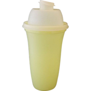 SALE Tupperware Yellow Quick Shake Mixer Blender #844