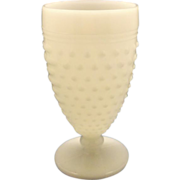 SOLD Anchor Hocking Hobnail Milk Glass Iced Tea Tumbler