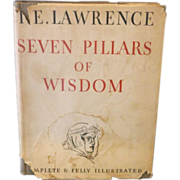 Seven Pillars of Wisdom T.E. Lawrence 1st US Edition 1935