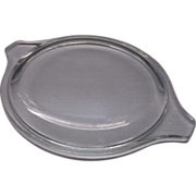 SOLD Pyrex Clear Glass Tab Handle Small Lid