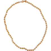"""Marvella Faux Pearl Necklace 21"""""""