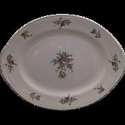Priscilla Oval Platter Homer Laughlin