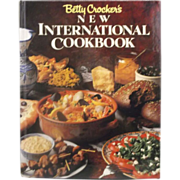 Betty Crocker New International Cookbook 1989 1st Edition