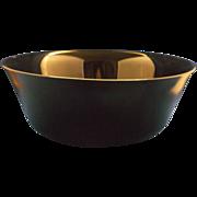 "Arcoroc Black Round 9"" Serving Bowl"