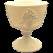Indiana Glass Harvest Grape White Sugar Bowl