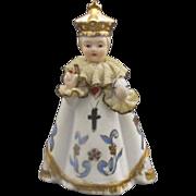 Lefton Infant of Prague Porcelain Figurine Small