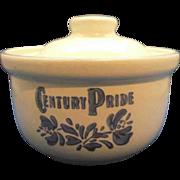 SOLD Pfaltzgraff Yorktowne Century Pride Butter Tub & Lid