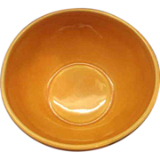 SALE Belmar of California Peach Glazed Serving Dish Base Bowl Only