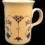 Churchill England Finlandia Blue White Ironstone Stoneware Mug