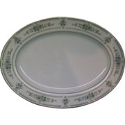 "Elington Fine China of Japan Oval Platter 12"""