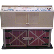 Fisher-Price Family Play Farm Barn Only 1967