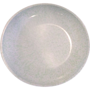 Boonton Green White Speckled Shallow Bowl