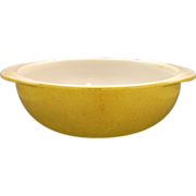 Pyrex Casserole Yellow Speckled Round 024 2 Qt