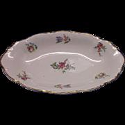 Priscilla Oval Bowl Scalloped Homer Laughlin Household Institute