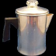 Foley 5 Cup Aluminum Stovetop Camping Coffee Pot Percolator