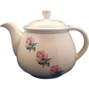 Kitchen Kraft Household Institute Rhythm Rose Tea Pot Homer Laughlin