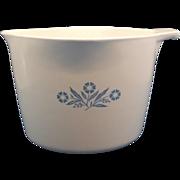 Corning Blue Cornflower Sauce Maker Pot