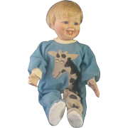 "Caught in the Act Little Stevie Mary Tretter Porcelain 12"" Doll Ashton Drake Gallerie"