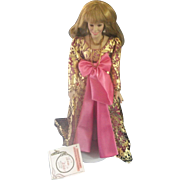 Vanna White Porcelain Doll From Vanna With Love Nolan Miller Fashions