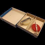 SALE Physics Pulleys Plastic Steel Ideal Brand Original Box