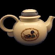 Mallard Duck Decoy Tea Pot Epoch Korea Porcelain