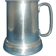 Hong Kong Aluminum Glass Bottom Stein Mug
