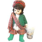 Madame Alexander Scotland Doll 8 IN Wendy Face 1980s
