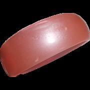 Bubblegum Pink Moonglow Lucite Bangle Bracelet