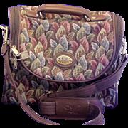 Diane von Furstenberg Tapestry Overnight Bag Small Carryon 1980s