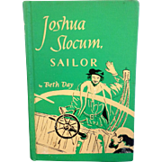 SALE Joshua Slocum, Sailor by Beth Day 1953 Green Hardback No Dust Jacket