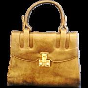 SALE Prestige Grey Marbled Vinyl Structured Purse Handbag