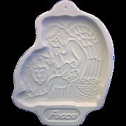 SALE Longaberger Peace Angel Cookie Mold 1993