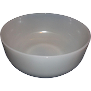 Colony Oven Ware Mixer Mixing Bowl White Milk Glass 9 IN