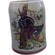 SALE Pheasant Game Bird Nature Scene West German Stein .5L